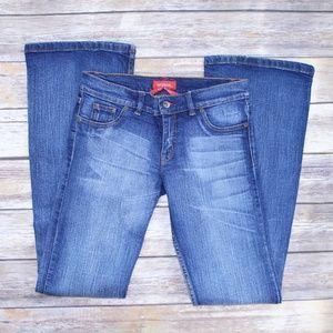 Gatopardo Flare Jeans Size 8 30/31 Long Inseam